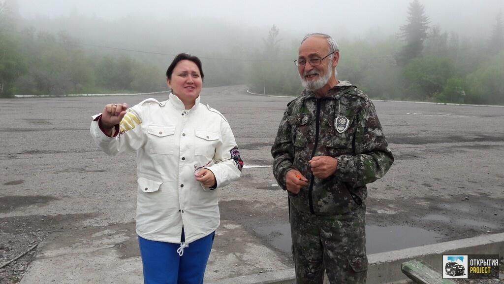 Егерь в Иссыкском заповеднике