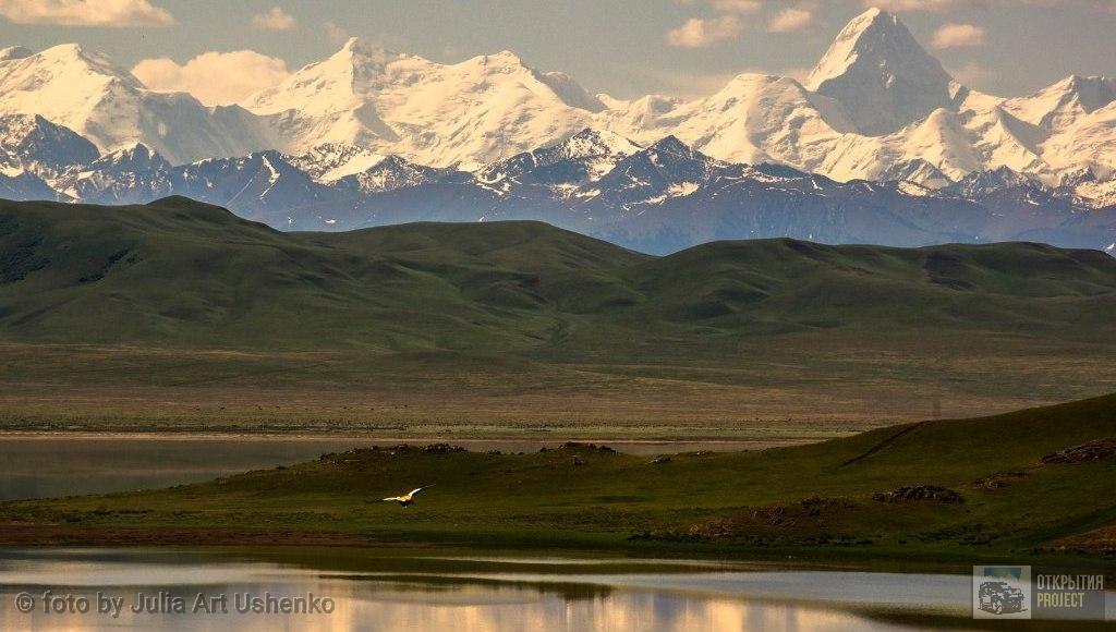 Озеро Тузколь. Пик Хан-Тенгри