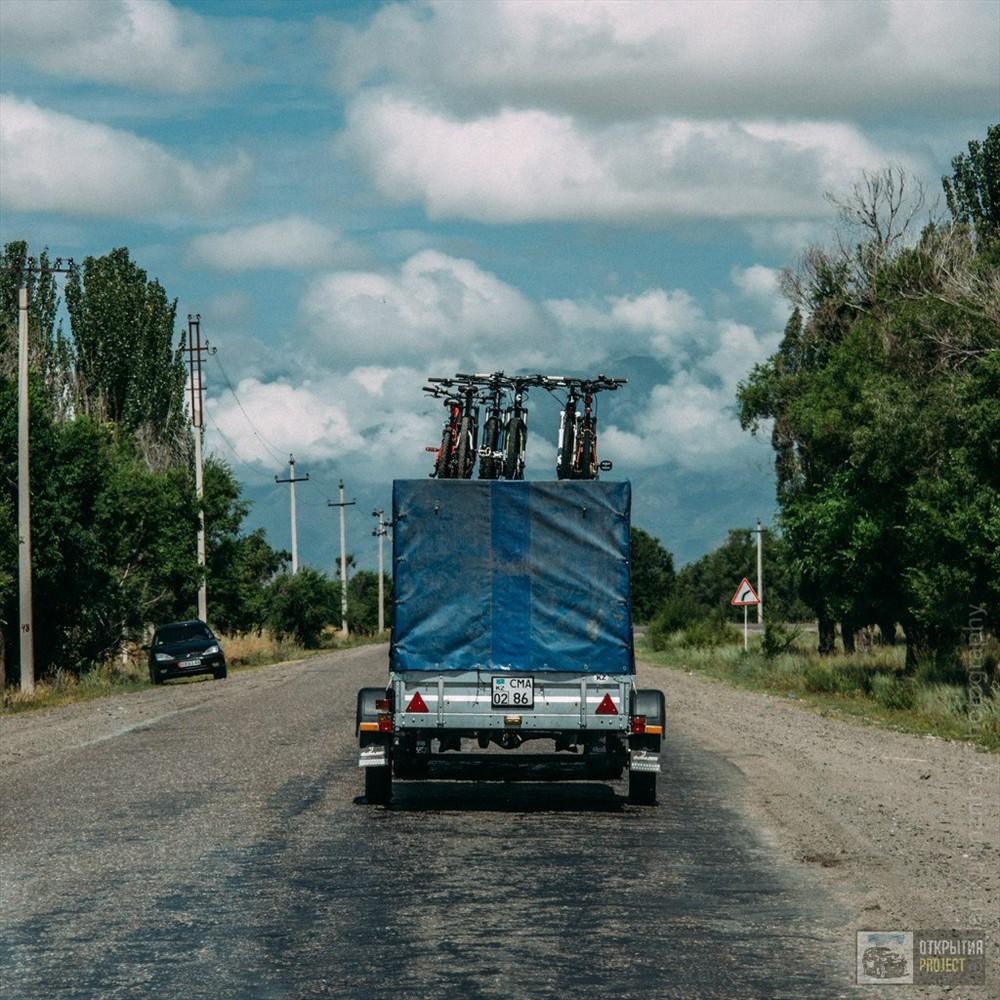 Велотур на Иссык-куль