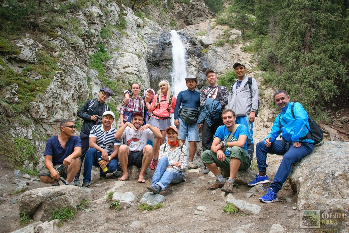 Водопад и команда