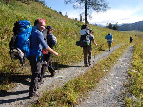 Треккинг в горах Алтая