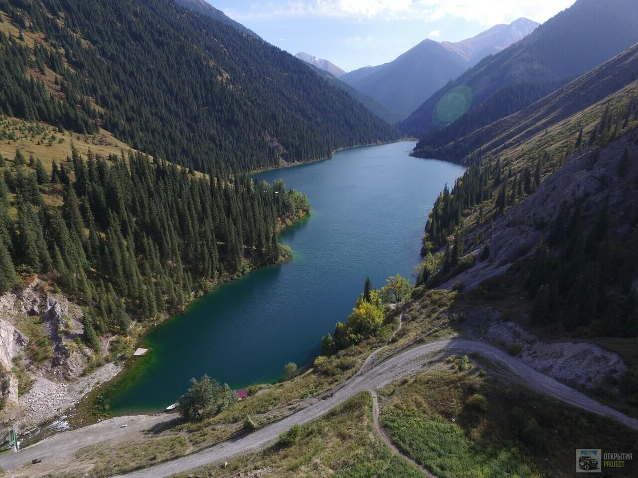 Чудесное озеро Кольсай