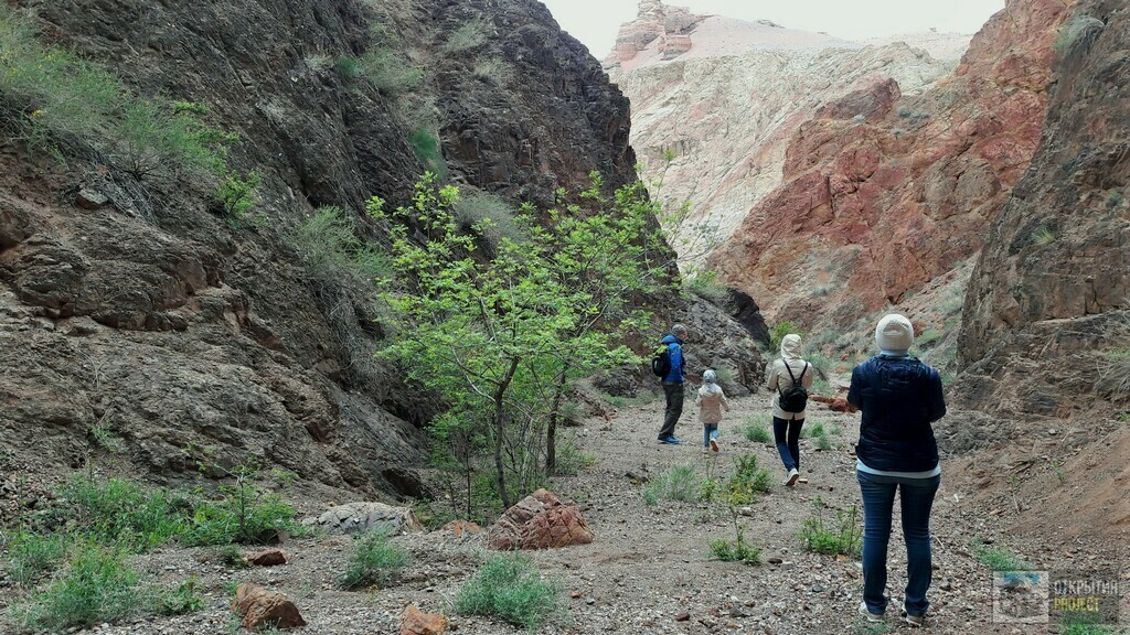 Прогулка по Чарынскому каньону