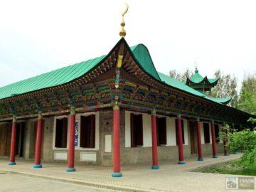 Жаркентская мечеть-пагода