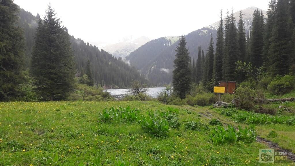 Тур по озерам Алматинской области