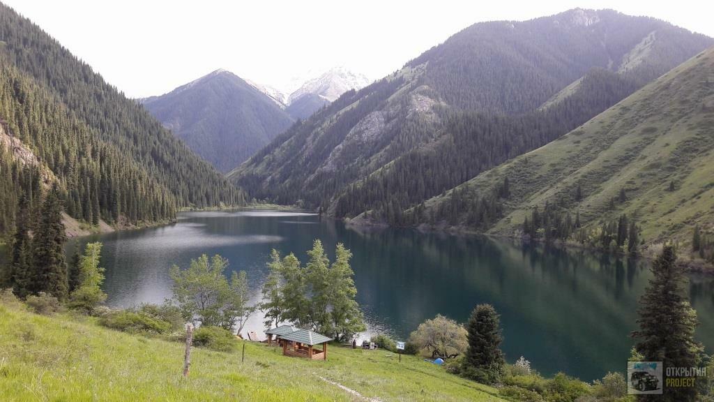 Озеро Кольсай нижнее