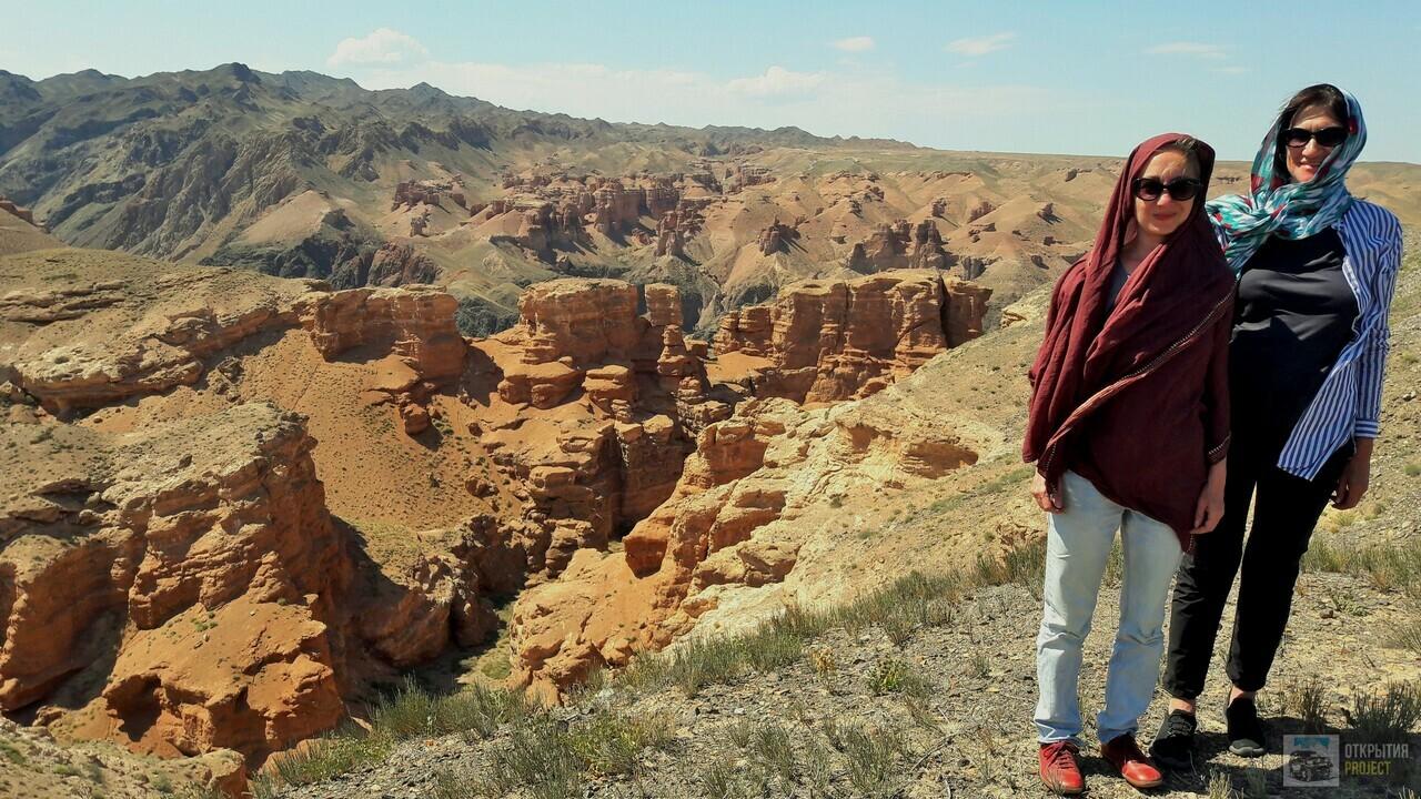 Панорама Чарынского каньона