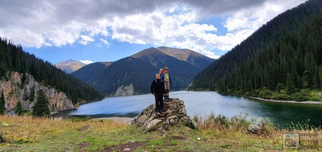 Озеро Кольсай среднее