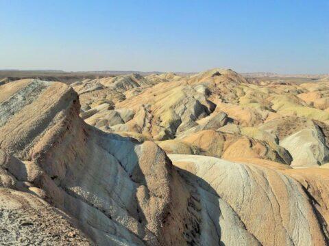 Джунгарский Алатау. Казахстан. Меловые горы