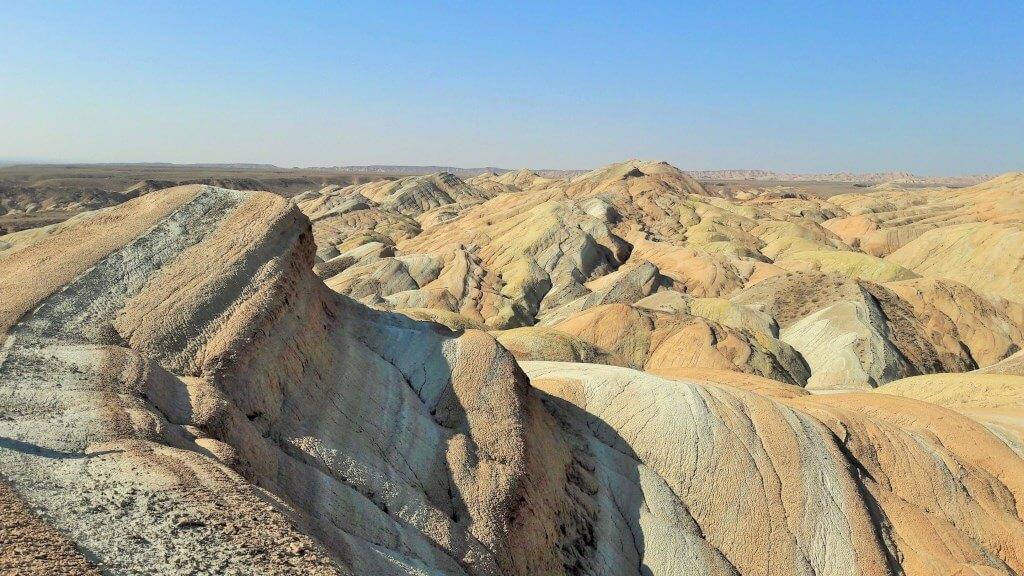 Джунгария. Казахстан. Меловые горы