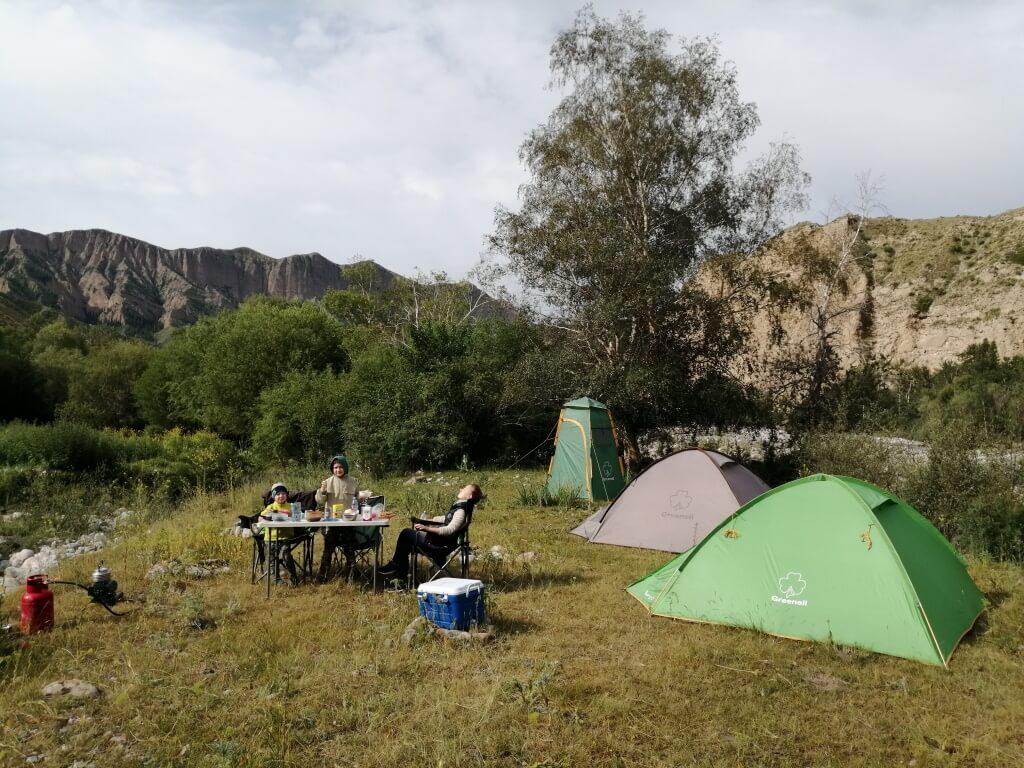 Завтрах в горах. Джунгария