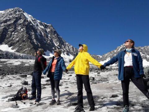Треккинг к Берельскому леднику. Алтай