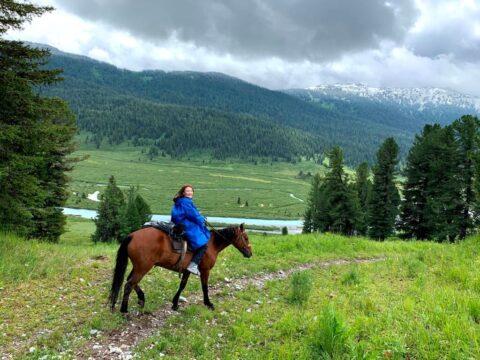 Казахстанский Алтай, поход к подножью горы Белуха